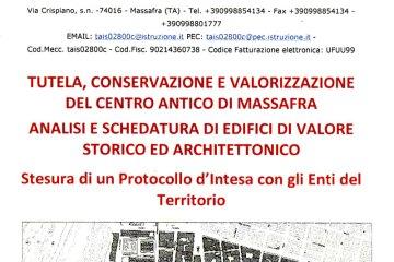 Tutela conservazione e valorizzazione del centro antico di Massafra