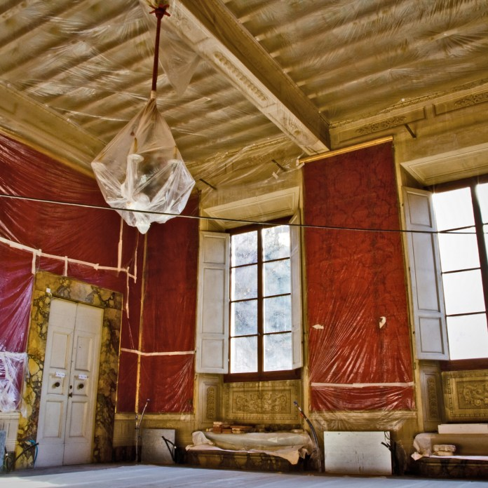 Sala Rossa Cantiere 1