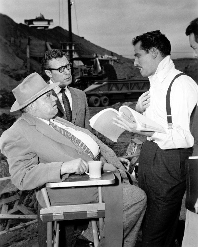 Orson Welles Mort Mills Charlton Heston La soif du mal