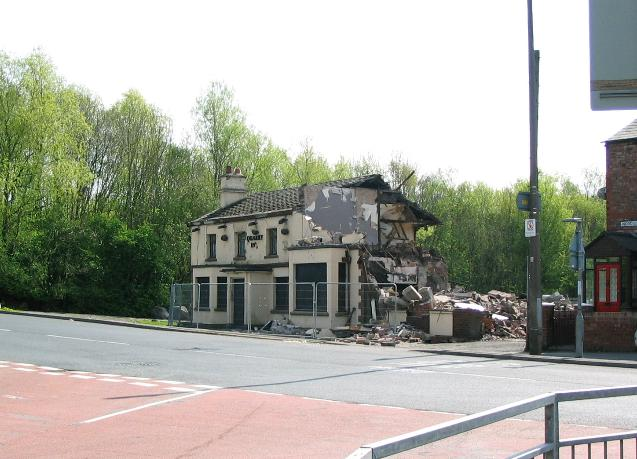 Quarry Inn Huyton  another lost pub