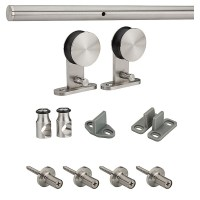 Stainless Steel Decorative Interior Sliding Door Hardware ...