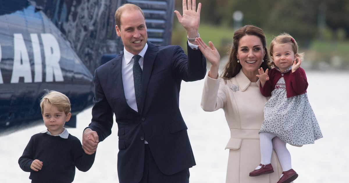 Kate Middleton Reveals The Nickname Prince George And Princess Charlotte Call Dad Prince William