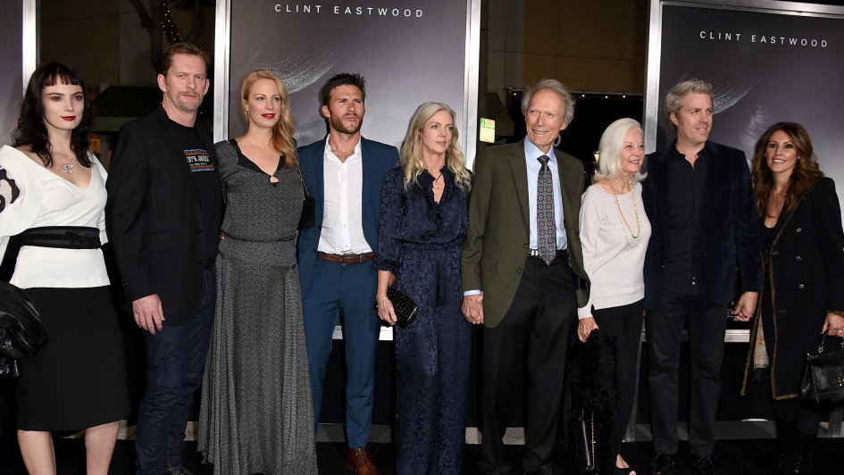 Clint Eastwood Wanted All 8 Kids At The Mule Premiere