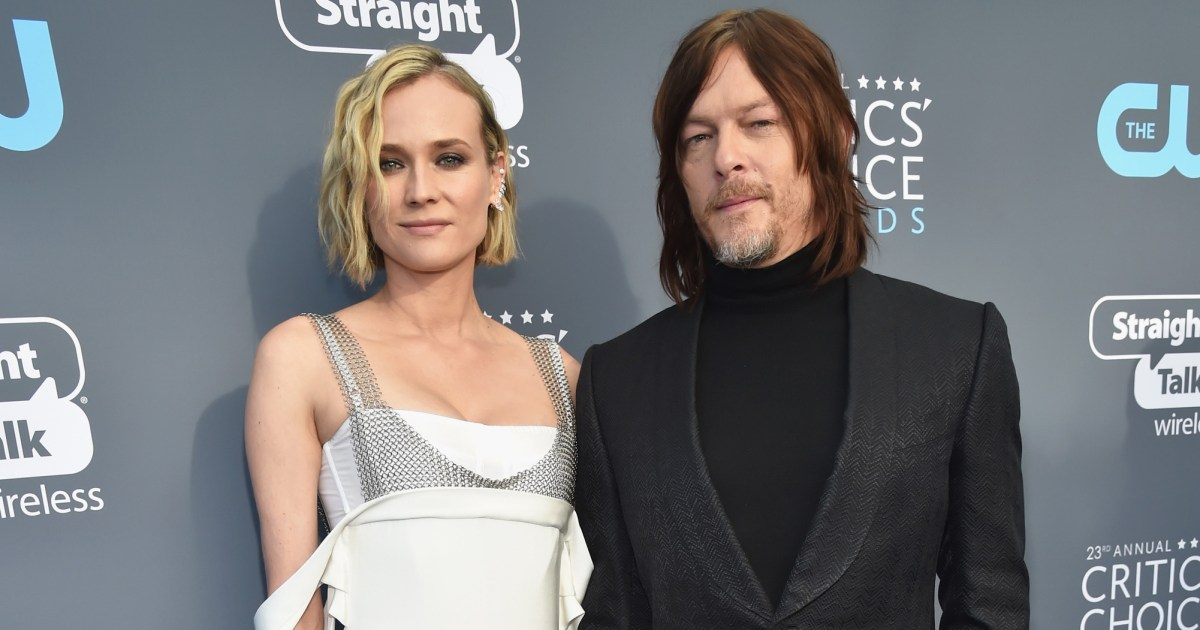 Norman Reedus Debuts First Photo Of Baby Girl With