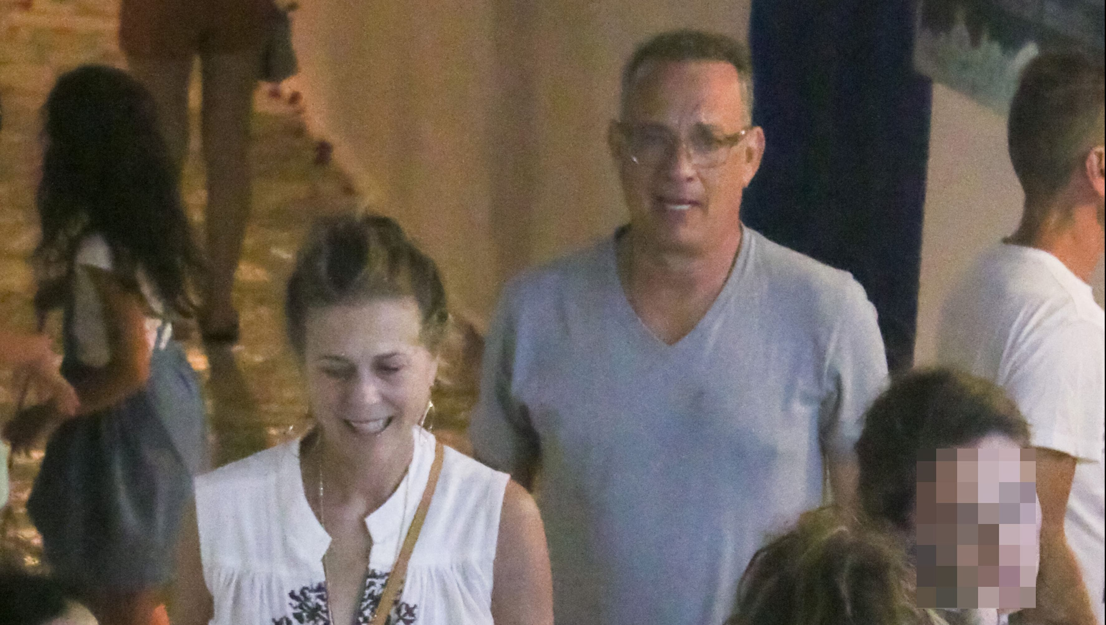 Tom Hanks And Rita Wilson Are Having A Blast On Vacation
