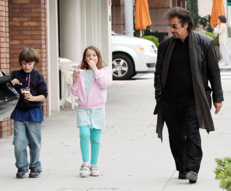 And Pacino His Twins Al