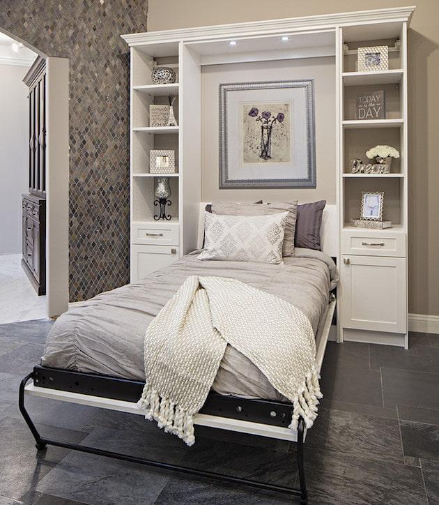popular murphy bed styles in