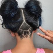 bold shaved hairstyles women