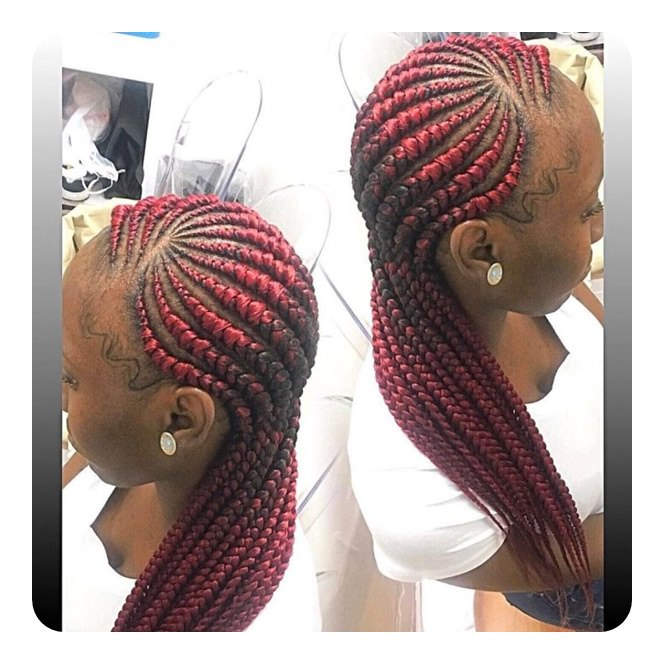 98 Ghana Braids Ideas That You Need To Try Out This Season