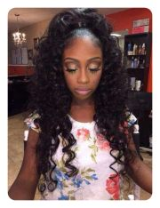 timeless weave ponytail hairstyles