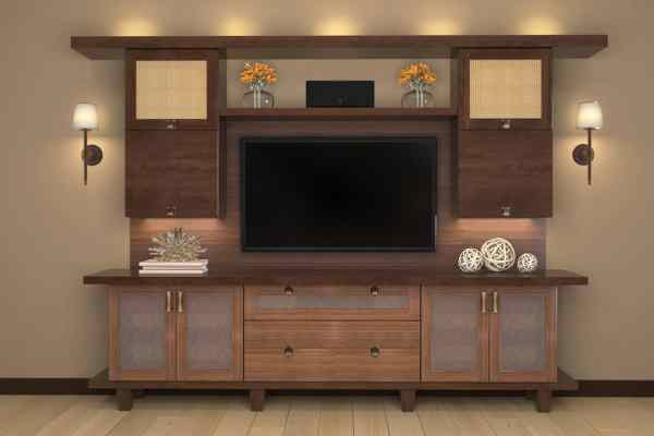 Entertainment Centers Custom Built-in Cabinets Closet Factory