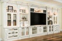 Entertainment Centers Custom Built-in Cabinets Closet