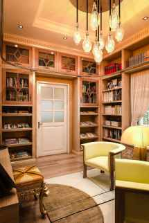 Home Library Cabinets Custom Design Closet Factory