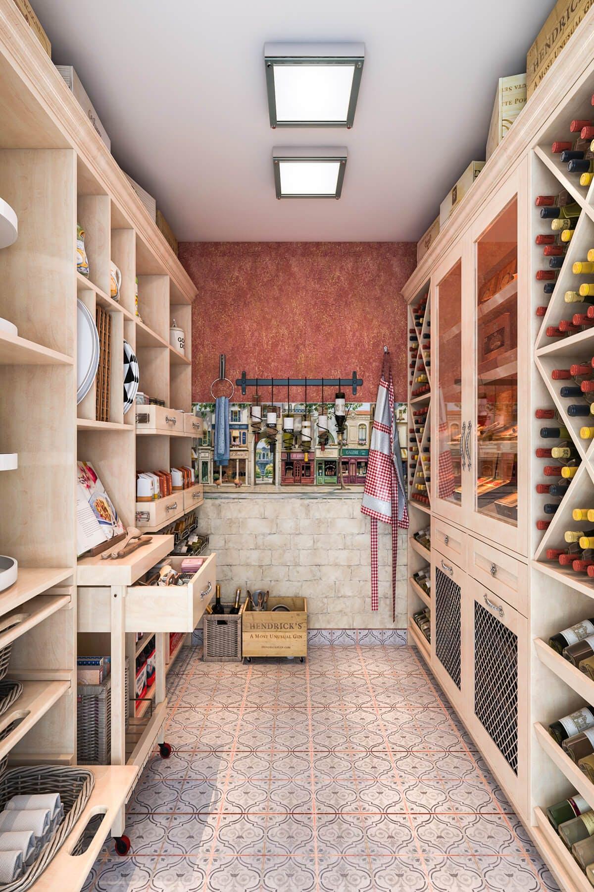 Wine Storage Pantry Shelving Home Bars Closet Factory