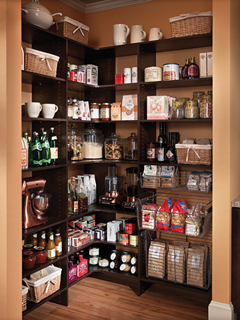 how to add a pantry your kitchen sears cabinets adding can greatly increase storage space in custom