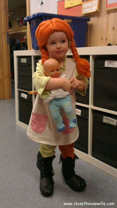 Pippi on Carnival Day