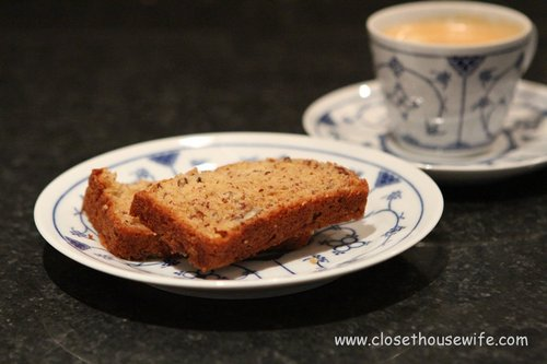 Banana Bread with your coffee