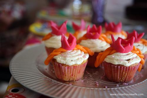 Pippi Princess Cupcakes