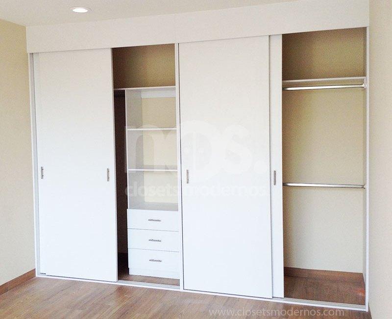 Catalogo de closets modernos de madera corredizos elige for Closet de madera modernos pequenos