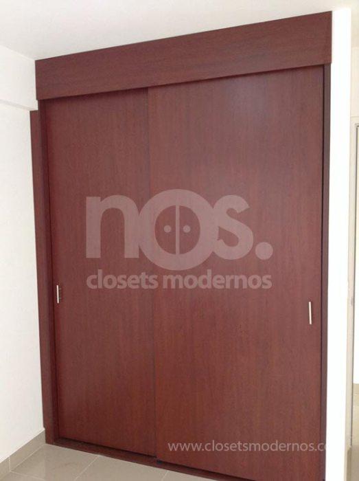 closet de madera corredizo 5b