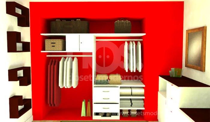 Closet interior 9 nos closets modernos for Closets interiores