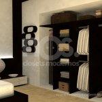 tipos de closets modernos interiores