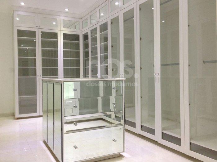 closets y vestidores modernos de lujo minimalistas grandes cdmx estado de mexio