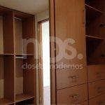 vestidores modernos de madera economicos minimalistas cdmx df mexico