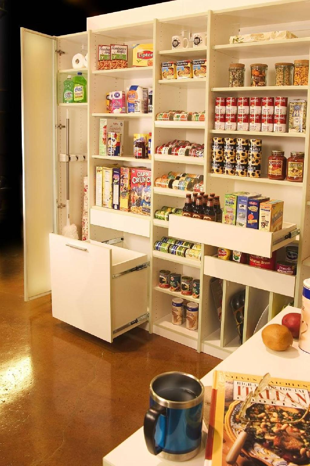 kitchen pantry organizers shelving systems closets to go pampered organizer storage