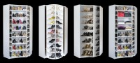 Closet Works 360 Organizer - Shoe Spinner Model Rotating ...