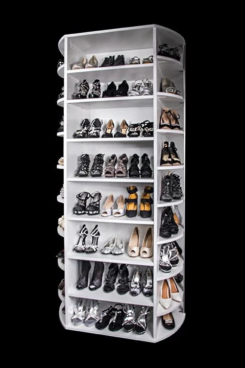 Lazy Lee Rotating Shoe Rack
