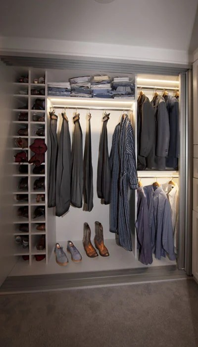 matching closets for high rise