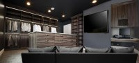 Create a Man Cave Office in Closet By Adding Walk In ...