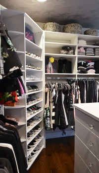 Turning a Spare Bedroom into a Designer Closet for Her