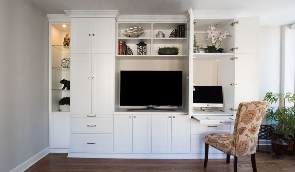 Custom Entertainment Centers And Media Wall Units Systems