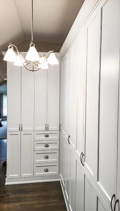 Media Center Credenza  Wardrobe Style Hallway Closet