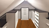 Closet Works Closet and Storage Systems for Slanted or