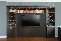 Horizontal Murphy Bed with TV Mounted to Bed Panel