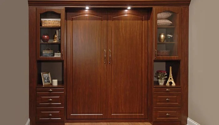 Bed Wall Unit With Foldaway Bed