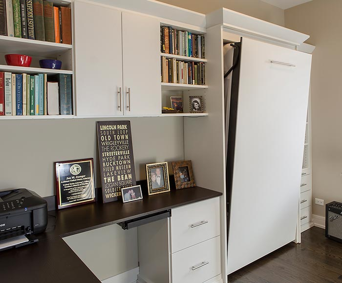 Versatile Guest Bedroom Office and Music Space