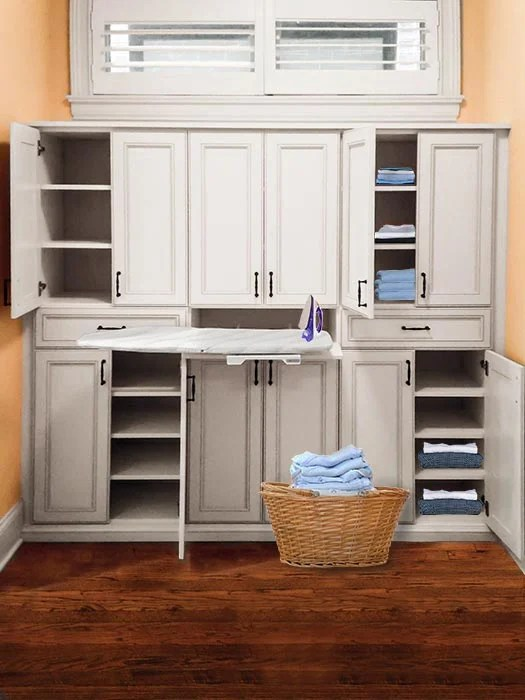 Wardrobe Style Custom Built In Linen Closet