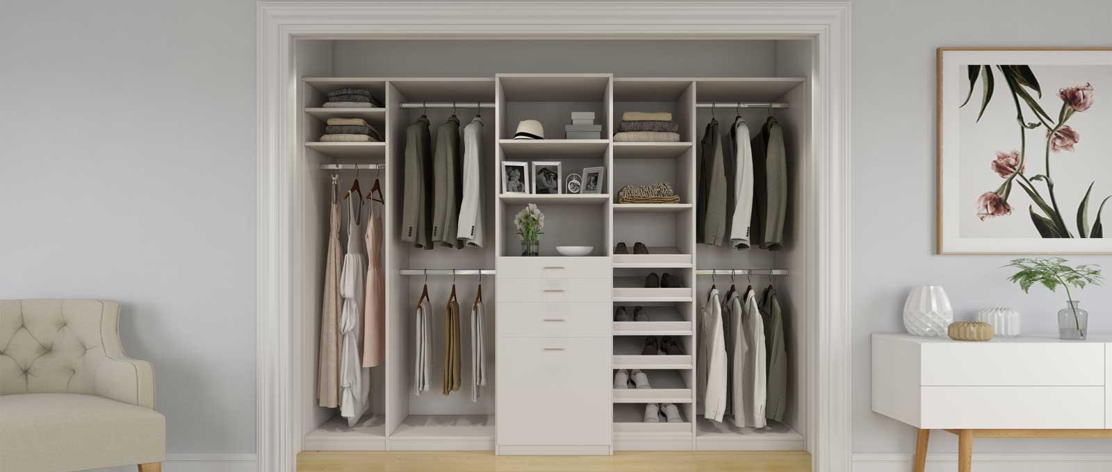 Custom Bedroom Closets And Closet Systems Closet World