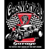 Badass Gas Monkey Garage T-Shirt bei Close Up im Online Shop!