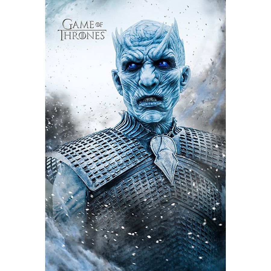 Game of Thrones Poster Staffel 6 Night King bei Close Up