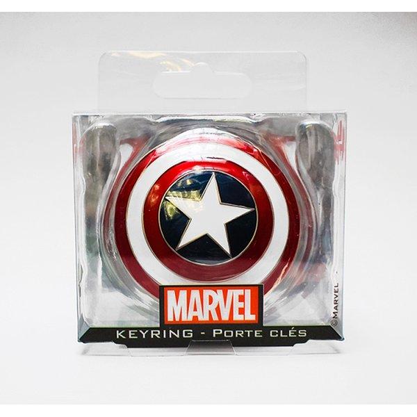 Marvel Captain America Schild als Schlsselanhnger im Fanshop