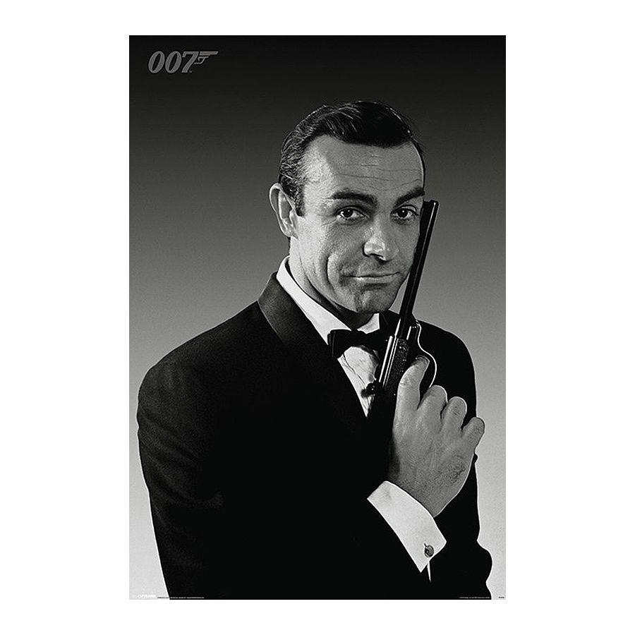 sean connery james bond poster