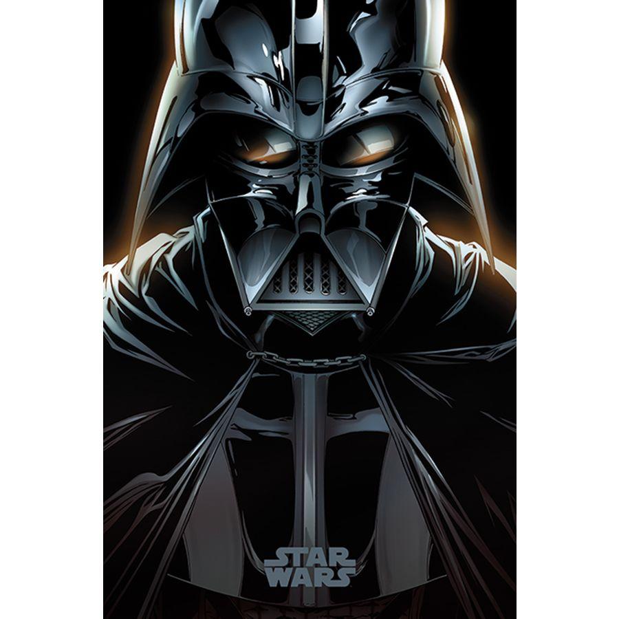 star wars poster darth vader