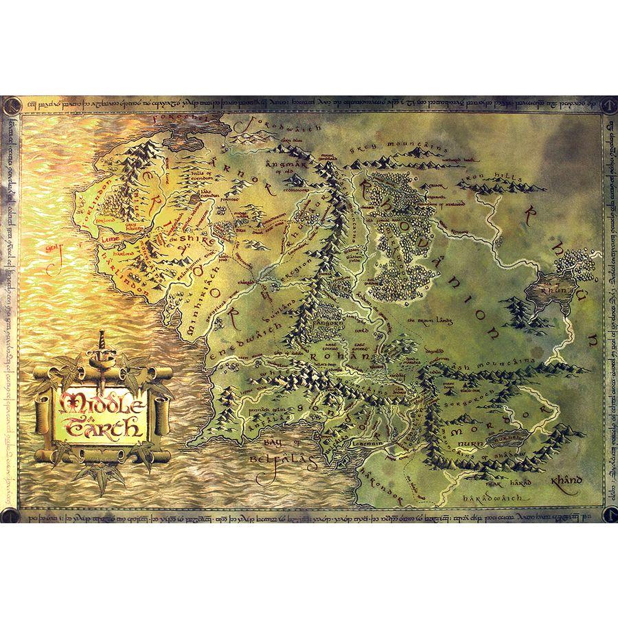 The Hobbit Landkarte bei Close Up im FanStore gnstig kaufen