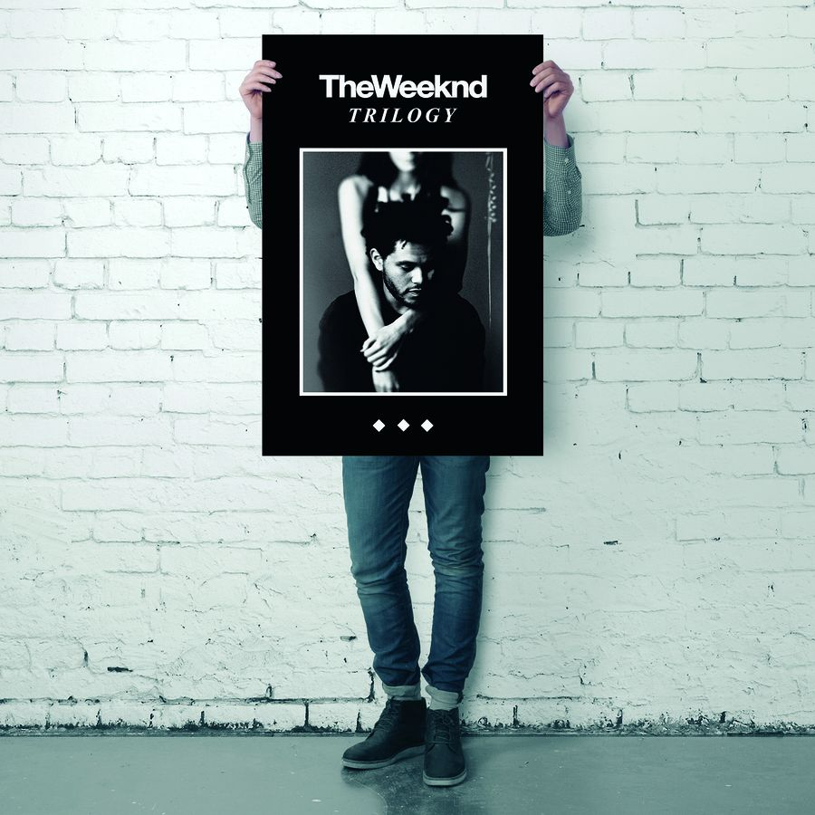 the weeknd poster trilogy poster