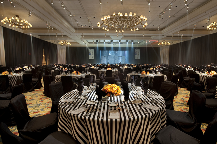 white linen chair metal tulip chairs for sale black & stripe table rental tablecloth